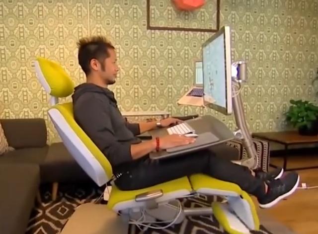 Современное рабочее место для тех, кто работает за компьютером