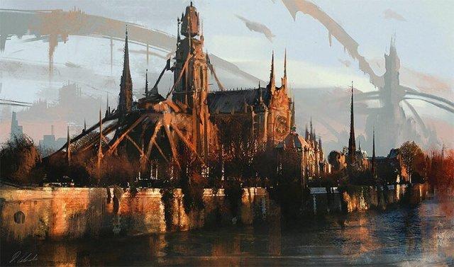 Концептуальные работы иллюстратора Дарека Заброцкого (118 фото)