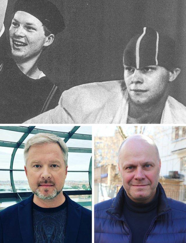 Как выглядели знаменитые российские рокеры в самом начале своей карьеры (21 фото)