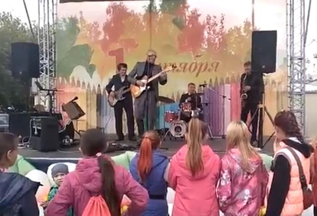 Недетские песни на концерте ко Дню знаний в Челябинской области