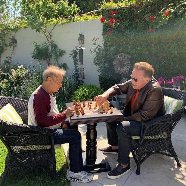 История о настоящей дружбе: Арнольд Шварценеггер и Франко Коломбо (27 фото + видео)