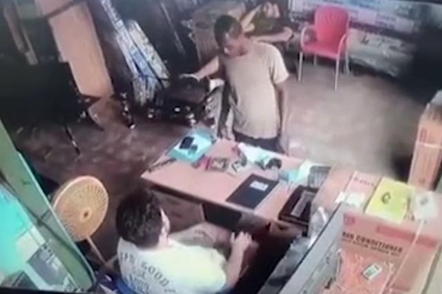Не лучший день для ограбления