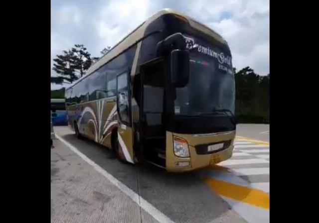 Как выглядит комфортабельный междугородний автобус в Южной Корее
