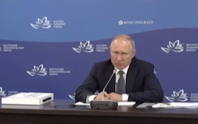 "Путин назвал придурками тех, кто считают Дальний Восток ""балластом"""