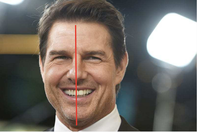 Тайны человечества: почему у Тома Круза передний зуб находится посередине лица? (7 фото)
