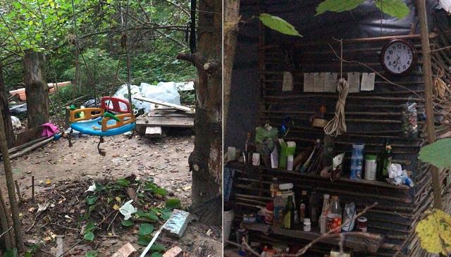 Найдено убежище грабителя, напавшего на Эллу Памфилову (10 фото + видео)