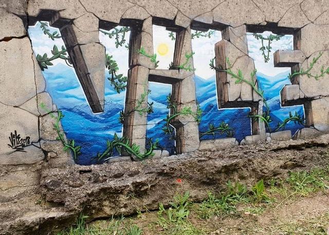 Еще один аргумент в пользу того, что граффити - это искусство (28 фото)
