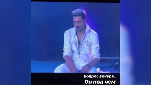 """На концерте в Самаре Дима Билан напугал зрителей своим """"странным"""" поведением (2 видео)"""