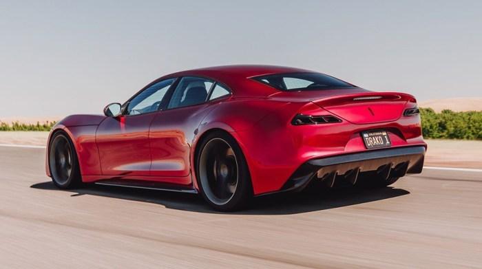 Drako GTE: электрокар мощнее Bugatti Veyron (4 фото + видео)