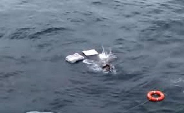 Российские моряки спасли рыбака из КНДР