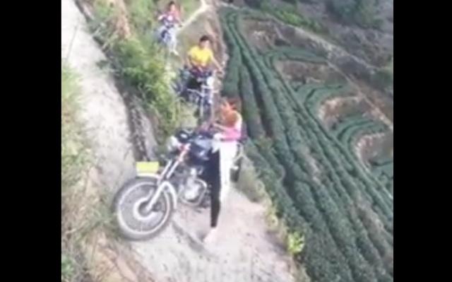 На мопедах и мотоциклах по горным тропам