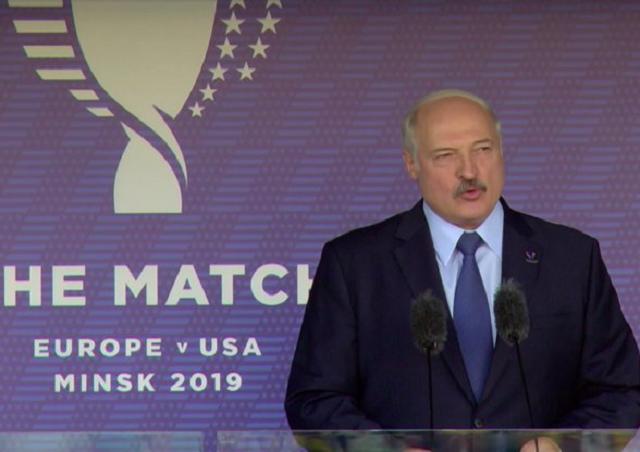 "Заявление Александра Лукашенко: ""Через 2 года Минск станет столицей США!"" (2 видео)"