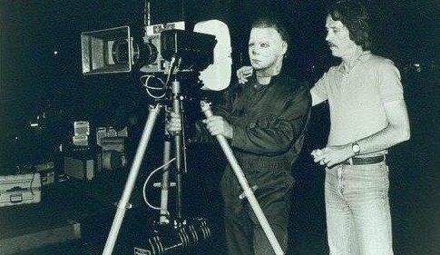 Редкие фотографии со съёмок популярных фильмов ужасов (41 фото)