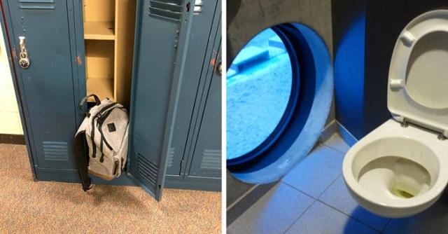 Строительные и дизайнерские фэйлы в учебных заведениях (18 фото)