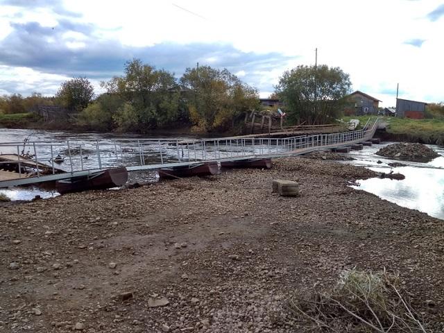 Многострадальный мост на Урале, который сломался после открытия, перекосило после восстановления (2 фото)