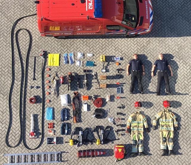 Tetris Challenge: новый флешмоб среди военных, полицейских и пожарных (19 фото)