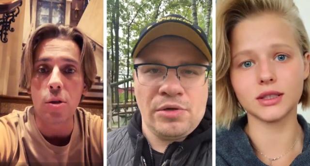 Осужденного актера Павла Устинова поддержали знаменитости (3 видео)