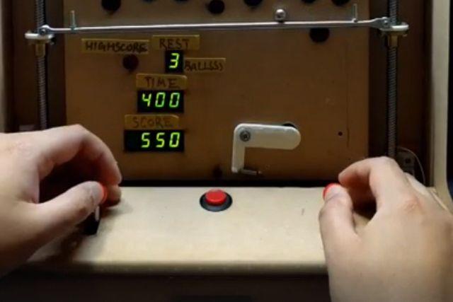 Самодельный игровой автомат