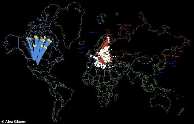 Ядерная война России и США: как это будет? (4 фото + видео)