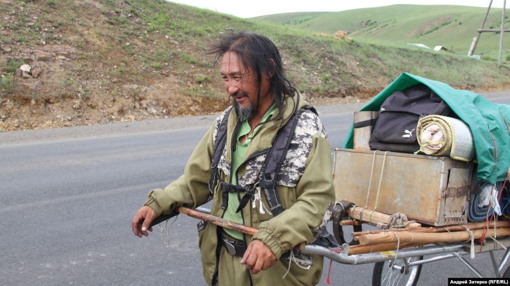 Задержан шаман, который идет в Москву «изгонять Путина»