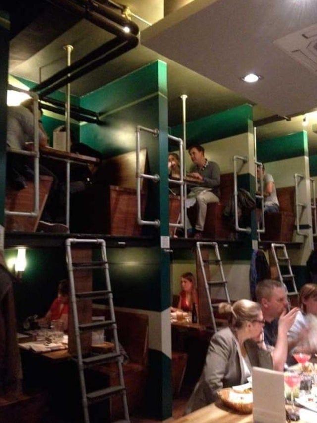 Подборка худших дизайнерских решений для кафе и ресторанов (18 фото)