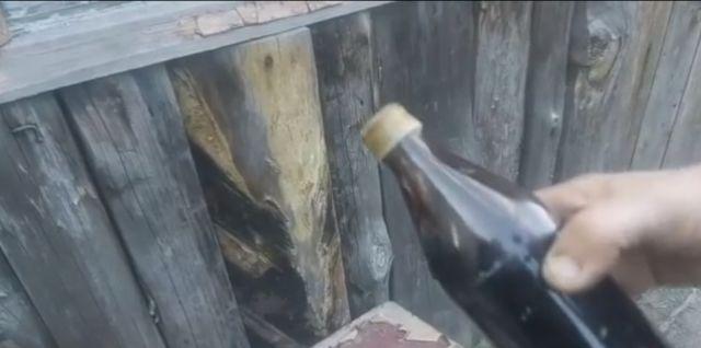 Никогда не знаешь, что окажется в старой запечатанной бутылке