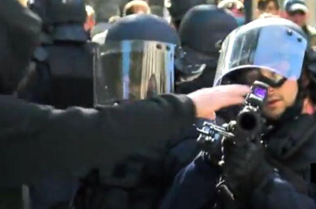 Мужчина потрогал ствол полицейского и поплатился