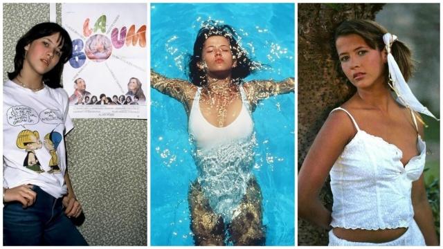 Лучшие фотографии молодой Софи Марсо (45 фото)