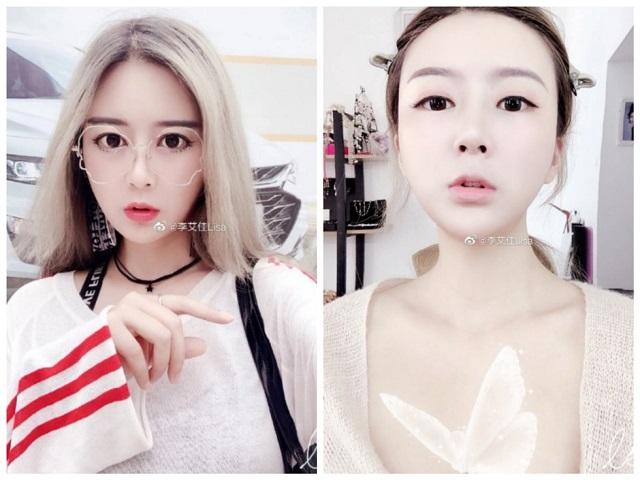 Позорное разоблачение гламурной блогерши из Китая (4 фото + видео)