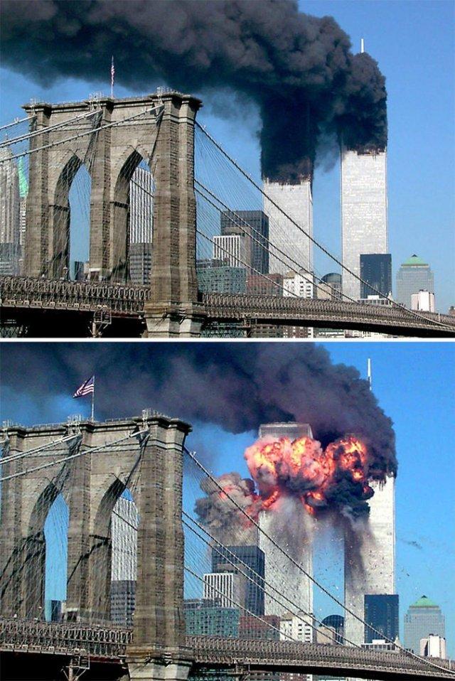 Ritka és tragikus: a szeptember 11-i támadás fényképei, amelyeket nem mindenki látott (19 fénykép)