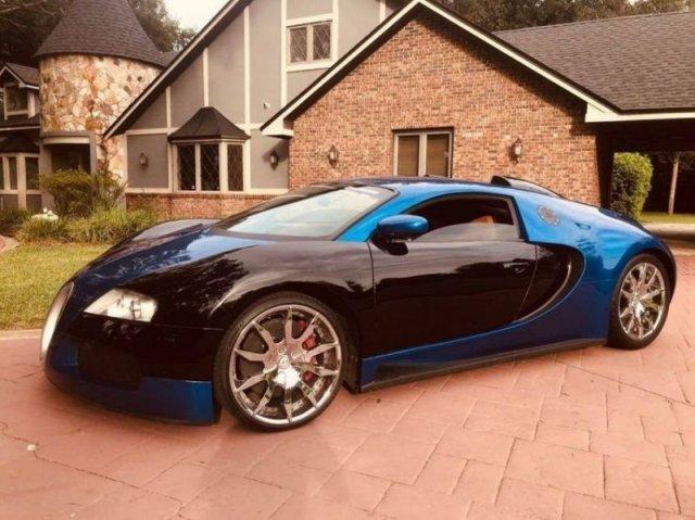 """Bugatti Veyron"" продают в 20 раз дешевле оригинала (19 фото)"