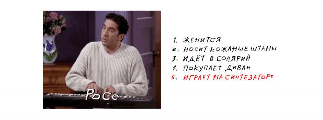 """""""Яндекс"""" посчитал поисковые запросы и определил самые популярные эпизоды """"Друзей"""" (9 фото)"""