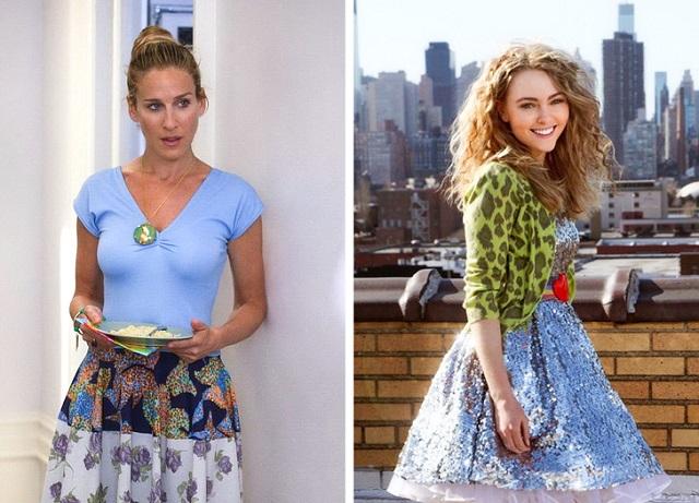 Как выглядят героини знаменитых фильмов в исполнении новых актрис (10 фото)
