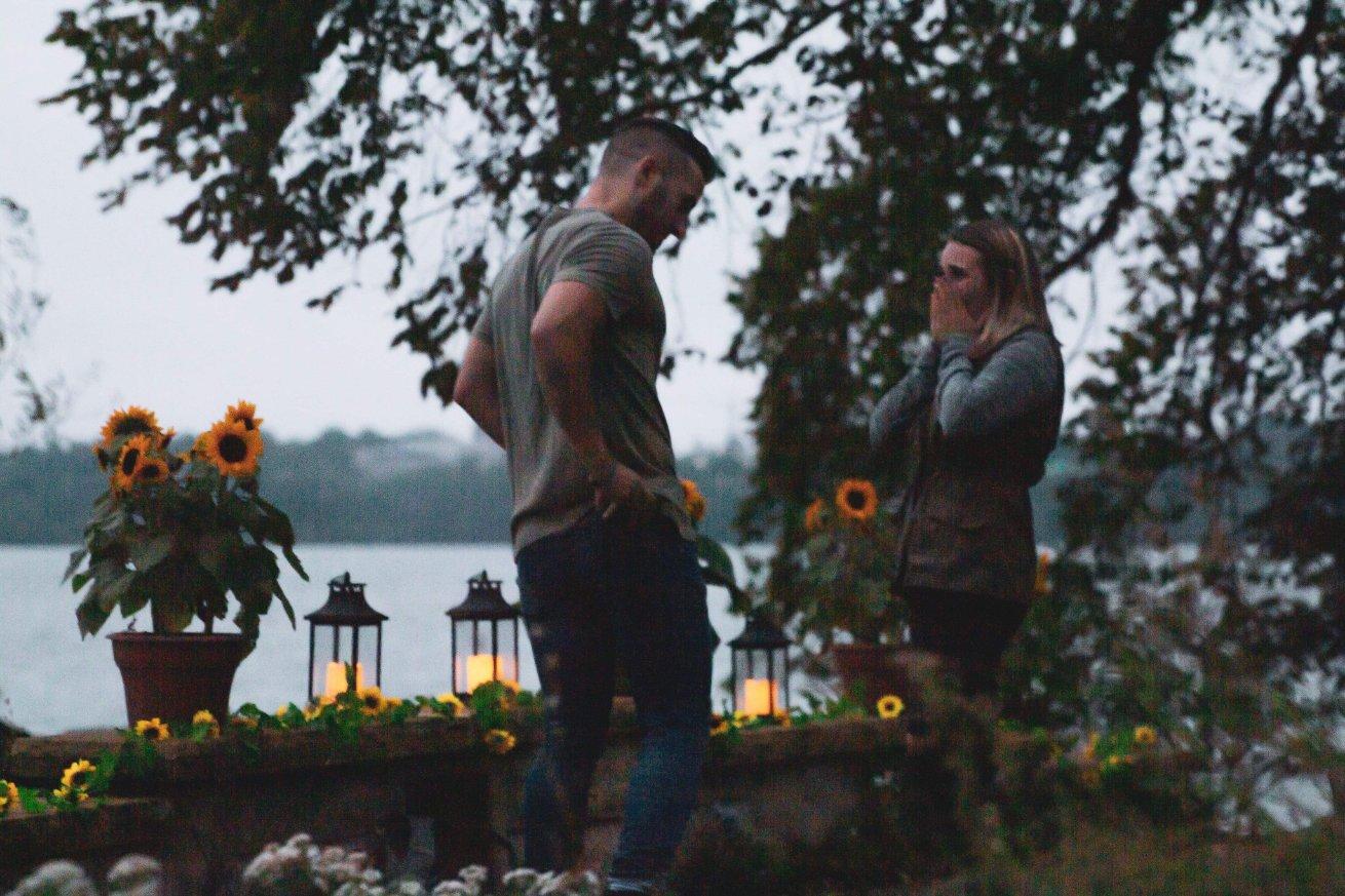 Американка проявила смекалку, чтобы сфотографировать, как ее сестру зовут замуж