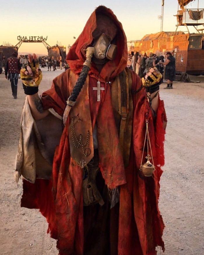 Mad Max stílusú fesztivál az Egyesült Államokban (44 fénykép)