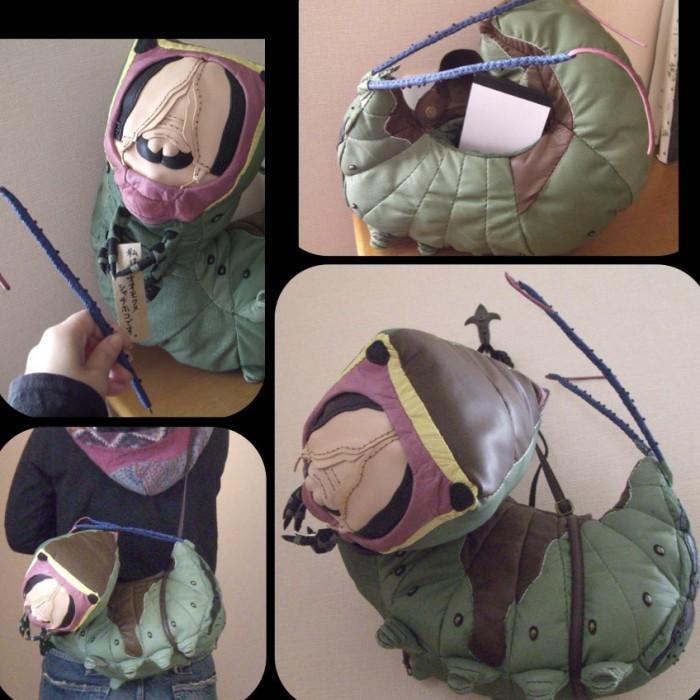 Японец делает сумки в виде огромных насекомых (30 фото)