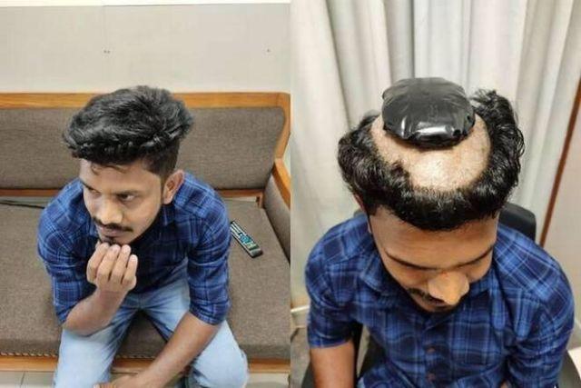 Как вы думаете, что происходит в голове у этого индийца?