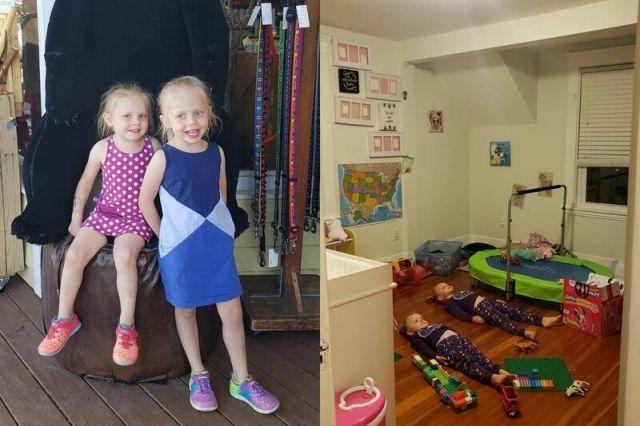 Лайфках: как утихомирить детей с помощью пижамы (4 фото)