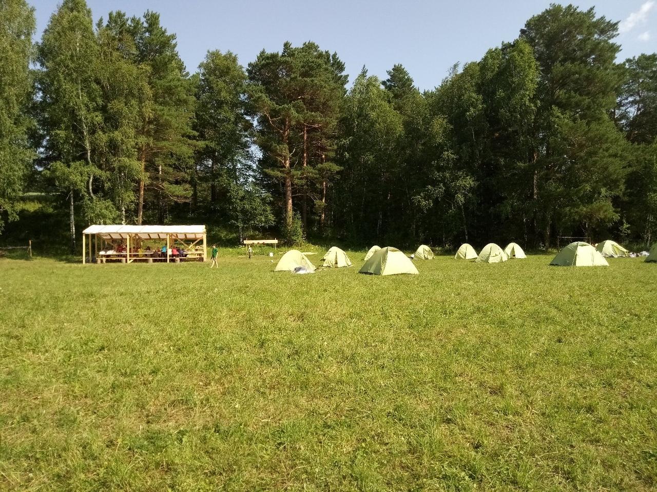 Детский лагерь в Сибири подвергся необычному ограблению (3 фото)
