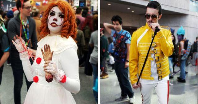 Самые яркие персонажи с фестиваля Comic Con 2019 в Нью-Йорке (25 фото)
