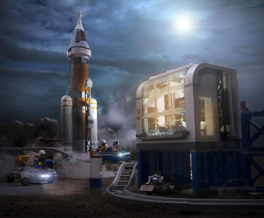 Парень воссоздает космические события с помощью Lego. Это очень круто! (16 фото)