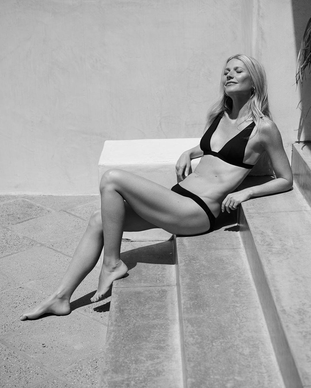 Гвинет Пэлтроу снялась топлес для модного журнала (11 фото)