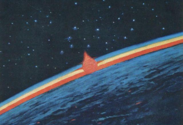 Космические картины Алексея Леонова (10 фото)