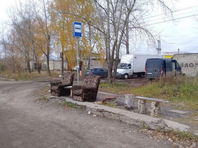 Тонкий намек чиновникам от жителей Дзержинска (2 фото)