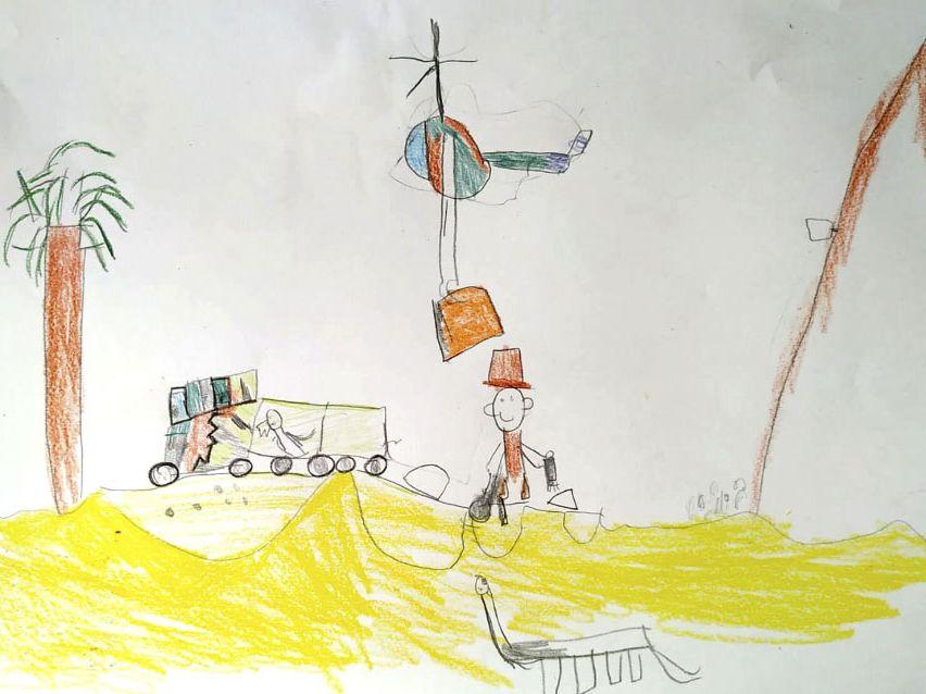 Дети нарисовали работу мечты, а художники сделали визуализацию (14 фото)