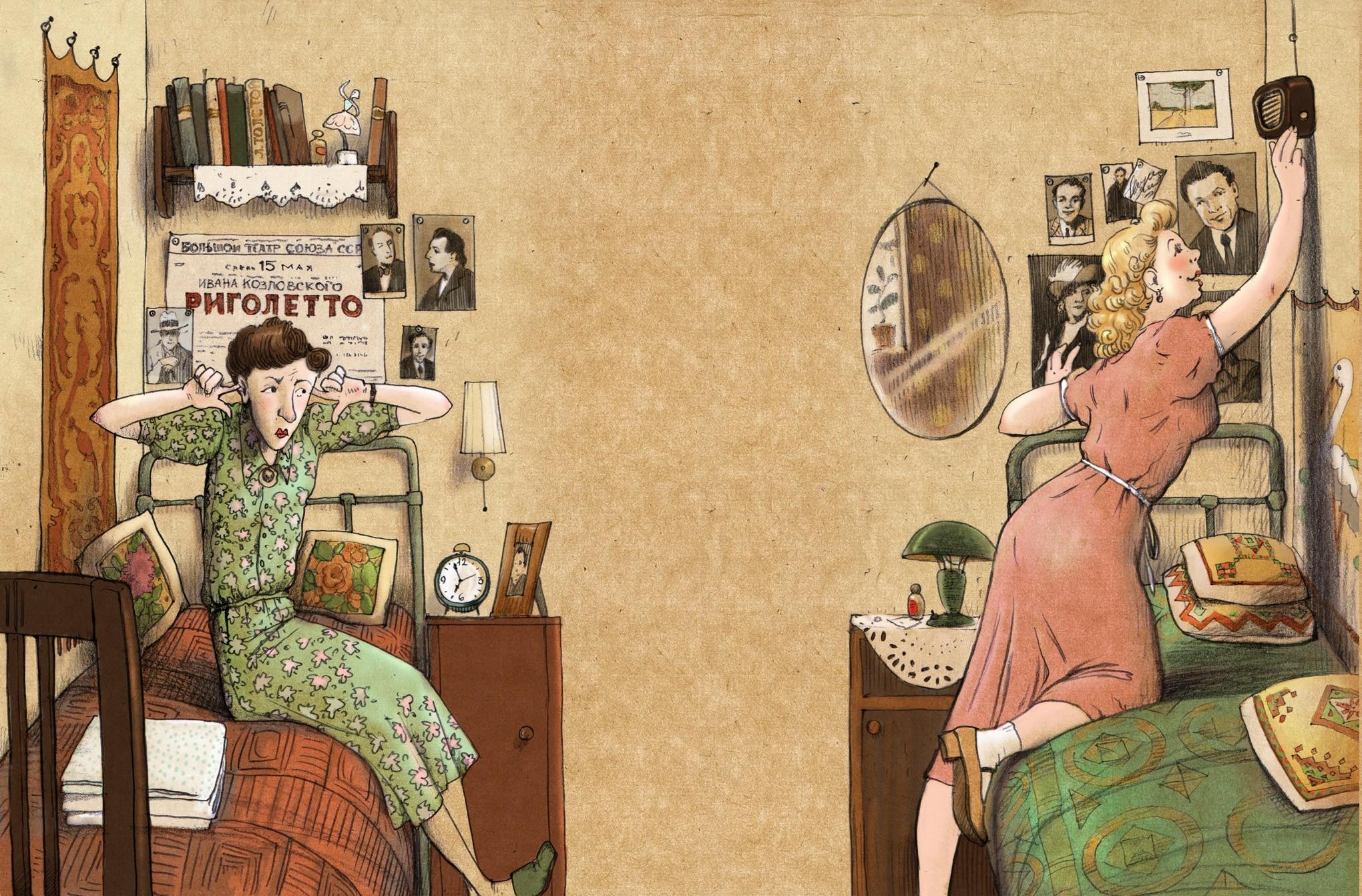 Иллюстрации советского прошлого (14 фото)