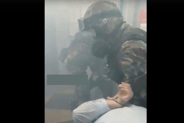 Иркутский ОМОН провел учения и захватил сотрудников ОВО (2 видео)