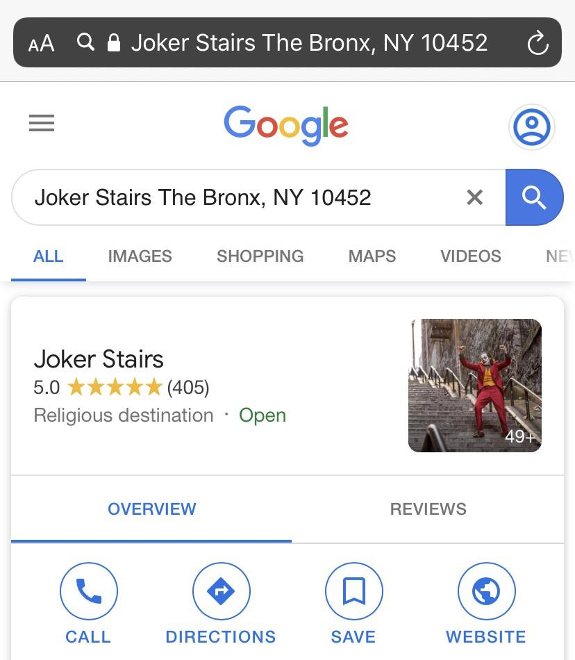 """Лестница из """"Джокера"""" стала местом паломничества фанатов (16 фото)"""