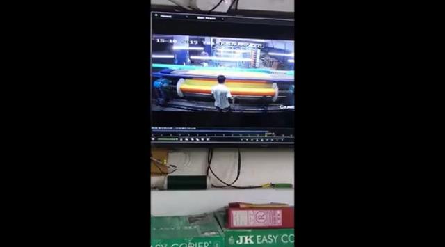 """""""Хрустящий"""" фэйл на текстильной фабрике в Индии"""