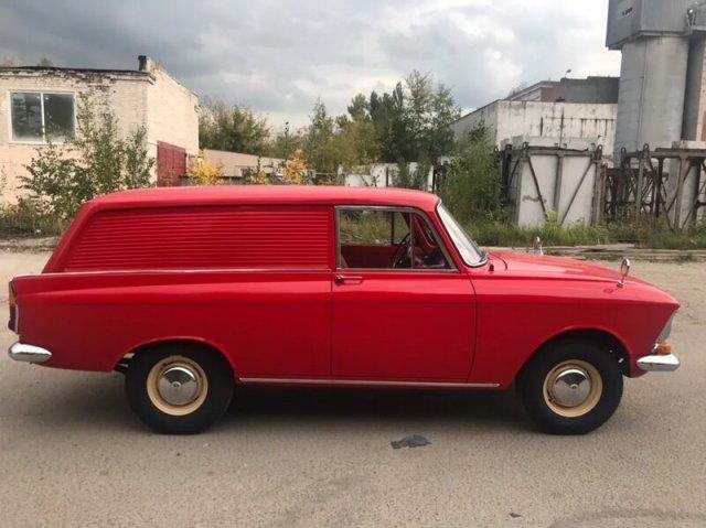 «Москвич» 1972 года выпуска продают за 2 миллиона рублей (9 фото)
